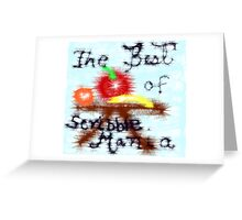 A Table Of The Best,...Scribbler Greeting Card