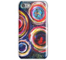Vibrant Vortex of Choice: Inner Power Painting iPhone Case/Skin