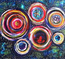 Vibrant Vortex of Choice: Inner Power Painting by mellierosetest