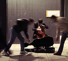 Straßenmusiker by tguerrero
