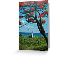 Rincon Lighthouse, Rincon, Puerto Rico Greeting Card