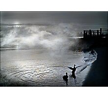 mist rising Photographic Print