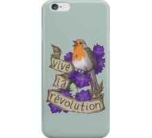 Vive la Revolution iPhone Case/Skin