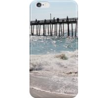 Crabbing at Beach iPhone Case/Skin