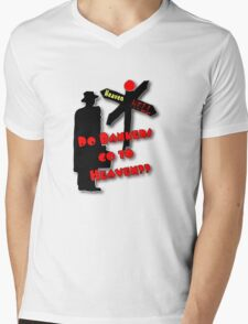 Occupy Wall Street Protest Tee Mens V-Neck T-Shirt