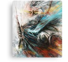 Tomek Biniek - The Witcher Canvas Print