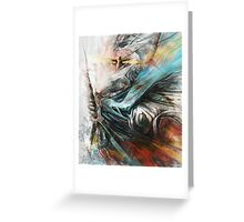 Tomek Biniek - The Witcher Greeting Card