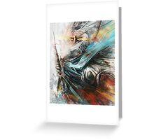 Tomek Biniek - The Witcher Greeting Card