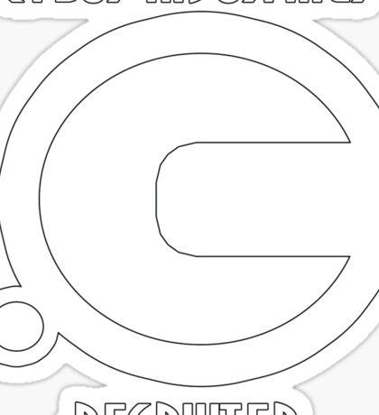 Cybus Industries Recruiter Sticker
