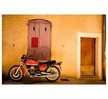 Moto Guzzi Photographic Print