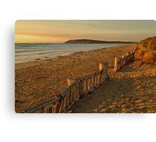 Sunrise Raafs Beach Canvas Print