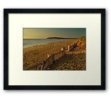Raafs Beach Framed Print
