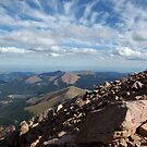 Pikes Peak Overlook by Dawn Parker