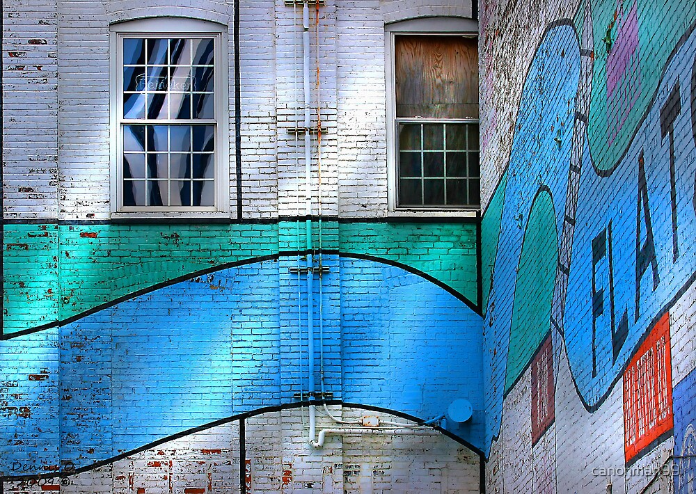 """"""" Walled In """" #9 urban series by canonman99"""