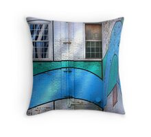 """"""" Walled In """" #9 urban series Throw Pillow"""