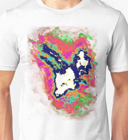 psychedelic rainbow phoenix inverted Unisex T-Shirt