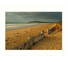 Morning Raafs Beach Art Print