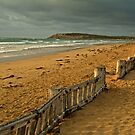 Morning Raafs Beach by Joe Mortelliti