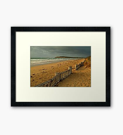 Morning Raafs Beach Framed Print