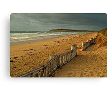 Morning Raafs Beach Canvas Print