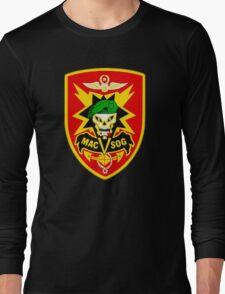 Macv-Sog Patch Long Sleeve T-Shirt