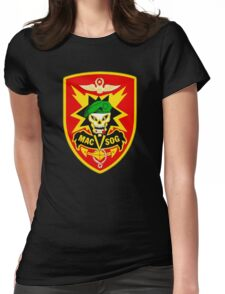 Macv-Sog Patch Womens Fitted T-Shirt