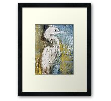 Waterbird One Framed Print