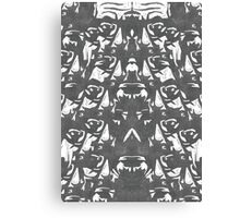 Heisenberg Repeat Canvas Print