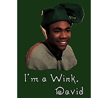 Derrick Comedy, Wink Photographic Print