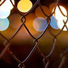 fence, bokeh by gematrium