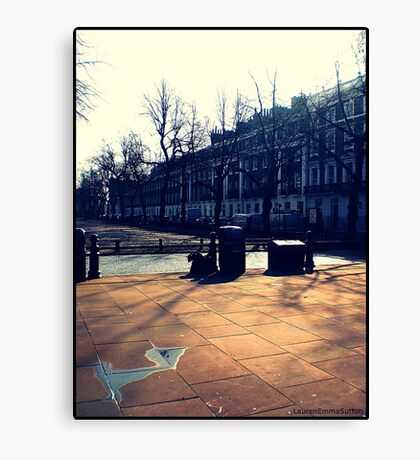 London - Kings Road View Canvas Print