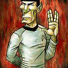Mister Spock by stablercake