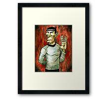 Mister Spock Framed Print