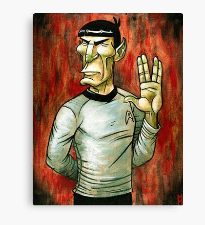 Mister Spock Canvas Print
