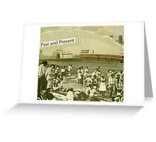 postcard to edward hopper' Greeting Card