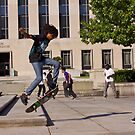 Skateboarders in DC by Ashlee Betteridge