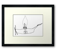 I Wonder Ship Framed Print