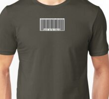 UPC Barcode: Menial Servant of Corporate Greed Unisex T-Shirt