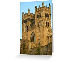 towers of glory - Durham cathedral -England-uk Greeting Card