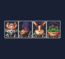 Team Star Fox by ubakaonyechi