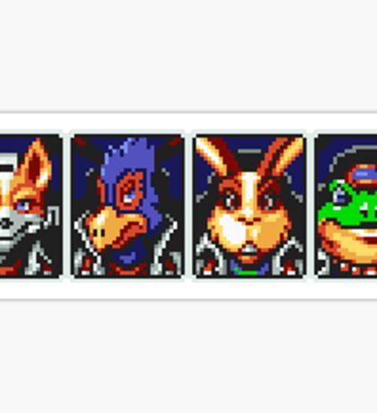 Team Star Fox Sticker