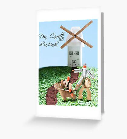 Don Carrotte de La Mancha Greeting Card