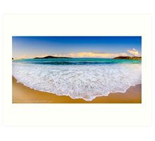 Fingal Bay Port Stephens Art Print