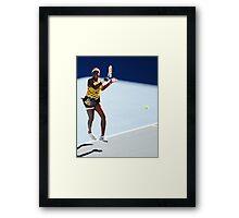Venus Williams Framed Print