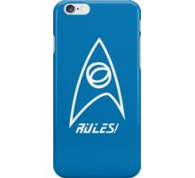 Science Rules v2.0 iPhone Case/Skin