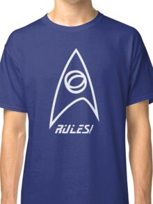 Science Rules v2.0 Classic T-Shirt