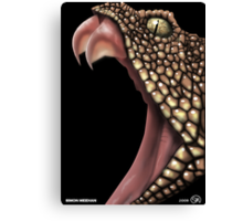 Viper - Fanged Danger Canvas Print