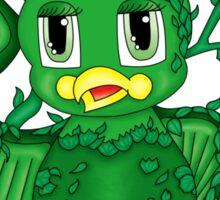 Poison Ivy Bird Sticker