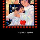 Valentine, Greeting Card, 'A Mothers Love'   by luvapples downunder/ Norval Arbogast
