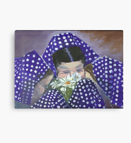 East End Colony Girl Friends Canvas Print